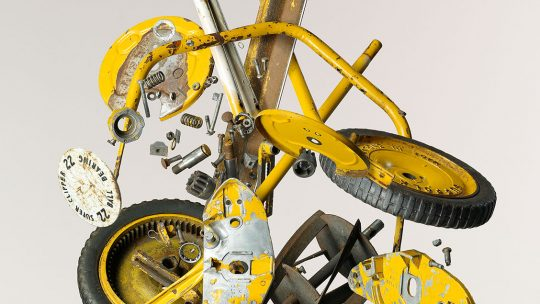 Todd McLellan Apart Push Mower